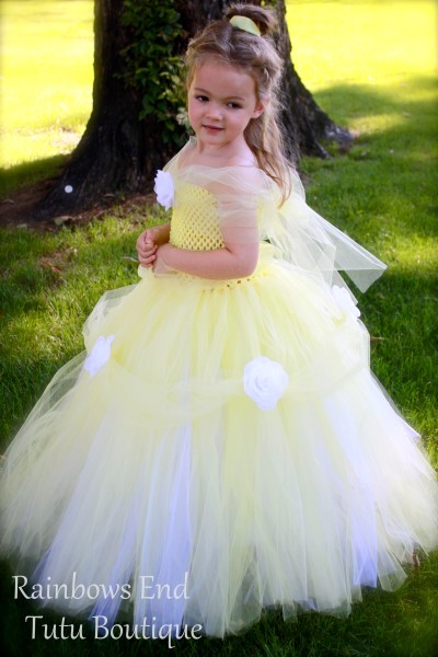 Princess Belle - Beauty and the Beast Inspired Tutu Dress