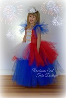 Yankee Doodle Darling Patriotic Tutu Dress