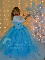 Queen Elsa - Frozen Inspired Tutu Dress