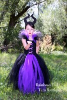 Maleficent Inspired Tutu Dress