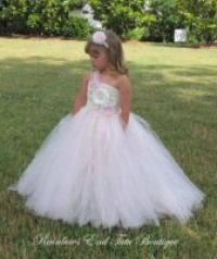 Vintage Dreams - Pink and Ivory Tutu Dress