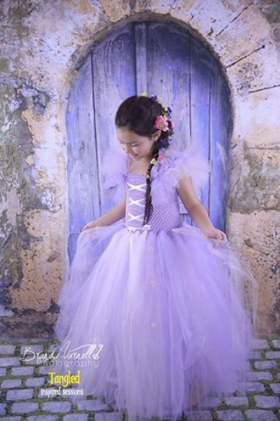 Rapunzel - Tangled Inspired Tutu Dress
