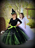 Wicked Inspired Elphaba Tutu Dress